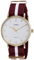 Timex Weekender Miesten kello TW2P97600 Valkoinen/Tekstiili Ø41 mm