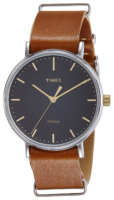 Timex Weekender TW2P97900 Musta/Teräs Ø38 mm