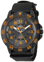 Timex Expedition Miesten kello TW4B05200 Musta/Tekstiili Ø44 mm