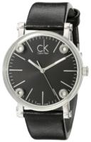Calvin Klein Cogent Naisten kello K3B231C1 Musta/Nahka Ø36 mm