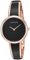 Calvin Klein 99999 Naisten kello K4E2N611 Musta/Punakultasävyinen