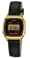 Casio Classic Naisten kello LA670WEGL-1EF Collection LCD/Nahka