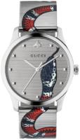 Gucci G-Timeless YA1264123 Hopea/Teräs Ø38 mm