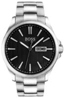 Hugo Boss The James Miesten kello 1513466 Musta/Teräs Ø42 mm