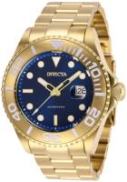 Invicta Pro Diver Miesten kello 27307 Sininen/Kullansävytetty teräs