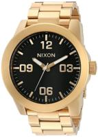 Nixon The Corporal Miesten kello A346510-00 Musta/Kullansävytetty