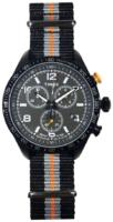 Timex 99999 Miesten kello T2P043CB Musta/Tekstiili Ø42 mm