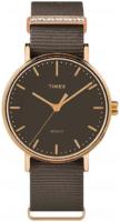 Timex Weekender Naisten kello TW2R48900D7 Harmaa/Tekstiili Ø37 mm