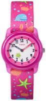Timex 99999 TW7C13600 Valkoinen/Tekstiili Ø28 mm