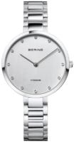 Bering Titanium Naisten kello 11334-770 Hopea/Titaani Ø35 mm
