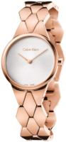 Calvin Klein Supreme Naisten kello K6E23646 Hopea/Punakultasävyinen