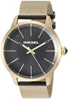 Diesel Castilia Naisten kello DZ5576 Musta/Kullansävytetty teräs