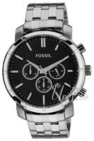 Fossil 99999 Miesten kello BQ1278 Musta/Teräs Ø46 mm