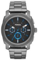 Fossil Machine Miesten kello FS4931 Musta/Teräs Ø45 mm