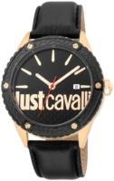 Just Cavalli 99999 Miesten kello JC1G080L0025 Musta/Nahka Ø44 mm