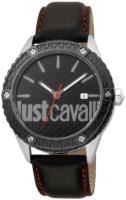 Just Cavalli 99999 Miesten kello JC1G080L0045 Musta/Nahka Ø44 mm