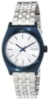 Nixon The Time Teller Naisten kello A3991849-00 Valkoinen/Teräs Ø26
