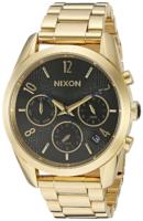Nixon 99999 Naisten kello A949510-00 Musta/Kullansävytetty teräs