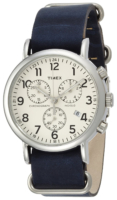 Timex Weekender Miesten kello TW2P62100 Beige/Nahka Ø40 mm