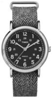 Timex Weekender Miesten kello TW2P72000 Musta/Tekstiili Ø38 mm