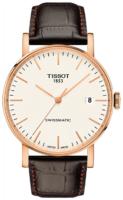 Tissot T-Classic Miesten kello T109.407.36.031.00 Valkoinen/Nahka
