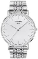 Tissot T-Classic Miesten kello T109.610.11.031.00 Hopea/Teräs Ø42 mm