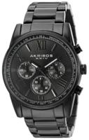 Akribos XXIV Chronograph Miesten kello AK865BK Musta/Teräs Ø41 mm