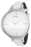 Calvin Klein Basic Naisten kello K2B23137 Valkoinen/Nahka Ø42 mm