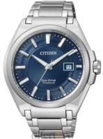 Citizen Super Titanium Miesten kello BM6930-57M Sininen/Titaani Ø42
