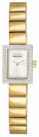 Citizen Dress Naisten kello EG2882-59A Valkoinen/Kullansävytetty