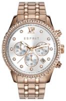 Esprit Sport Naisten kello ES108732002 Hopea/Punakultasävyinen Ø40