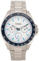Fossil 99999 Miesten kello BQ2240 Valkoinen/Teräs Ø45 mm
