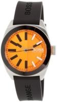 Hugo Boss London Miesten kello 1513052 Oranssi/Muovi Ø42 mm