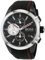 Hugo Boss Chronograph Miesten kello 1513284 Musta/Kumi Ø44 mm