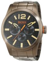 Hugo Boss Paris Miesten kello 1513313 Musta/Teräs Ø47 mm