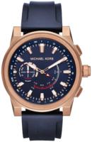 Michael Kors Smartwatch Miesten kello MKT4012 Sininen/Kumi Ø47 mm