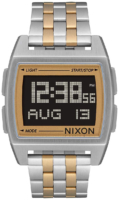 Nixon Base Miesten kello A11071431-00 LCD/Kullansävytetty teräs