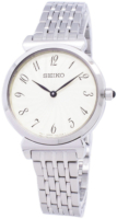 Seiko Classic Naisten kello SFQ801P1 Valkoinen/Teräs Ø30 mm