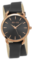 So & Co New York SoHo Naisten kello 5086.3 Harmaa/Nahka Ø36 mm