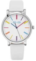 So & Co New York SoHo 5092.1 Valkoinen/Nahka Ø38 mm