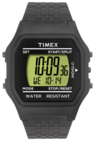 Timex 99999 Miesten kello T2N286 LCD/Teräs