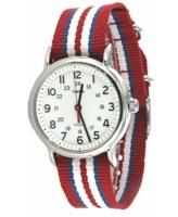 Timex Weekender Miesten kello T2N746 Valkoinen/Teräs Ø38 mm