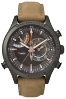Timex Intelligent Miesten kello TW2P72500 Musta/Nahka Ø46 mm
