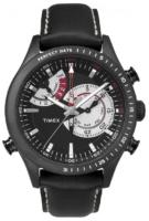 Timex Intelligent Miesten kello TW2P72600 Musta/Nahka Ø46 mm