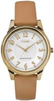 Timex Classic Naisten kello TW2R87000 Valkoinen/Nahka Ø35 mm