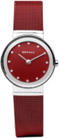 Bering Classic Naisten kello 10126-303 Punainen/Teräs Ø16 mm