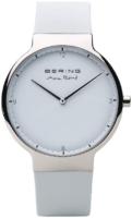 Bering Max Rene Miesten kello 15540-904 Valkoinen/Kumi Ø40 mm