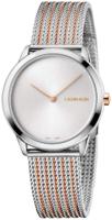 Calvin Klein Minimal Naisten kello K3M22B26 Hopea/Punakultasävyinen