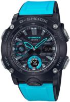 Casio G-Shock Miesten kello GA-2000-1A2ER LCD/Muovi Ø48.7 mm
