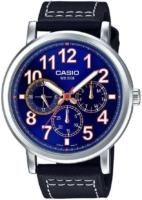 Casio 99999 Miesten kello MTP-E309L-2B1 Sininen/Nahka Ø45 mm
